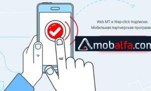Обзор партнерской программы Mobalfa