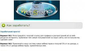 Обзор партнерской программы WebSharks