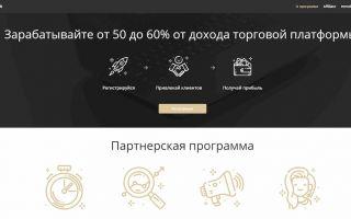 Обзор партнёрской программы KingFin.com (Кинг Фин)