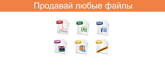 ProdaFile.ru - продажа файлов через интернет