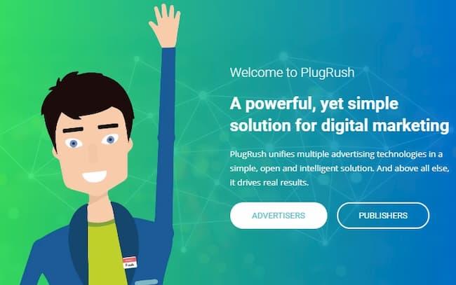 рекламная сеть PlugRush.com